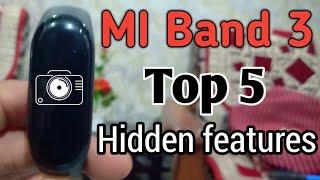 MI Band 3-Top 5 Hidden features/H world