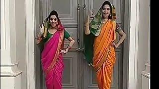 Kundali Bhagya Preeta and Srishti dance