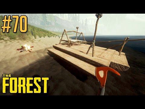 Podróż dookoła wyspy [cz.2] - The Forest #70 (v0.60), gameplay pl