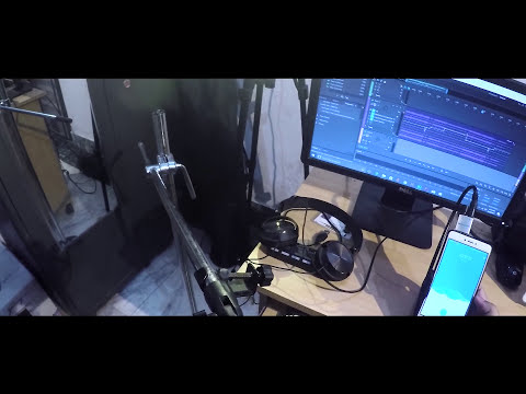 BM 800 microphone test with smart Phone