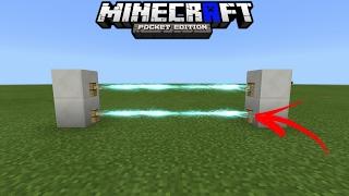 COMO FAZER UMA CERCA ELÉTRICA NO MINECRAFT POCKET EDITION 1.1!!