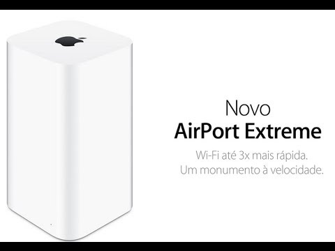 Unboxing e Review Roteador Apple Airport Extreme com WiFi 802.11ac