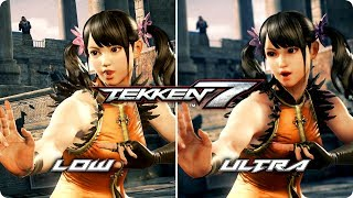 PC Graphics Comparison - Tekken 7 - Low vs Ultra Settings