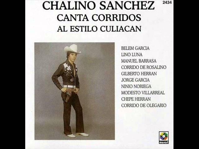 Chalino Sanchez- Canta corridos al estilo Culiacan, DISCO COMPLETO