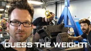 Guess The Weight! (Behind The Scenes)