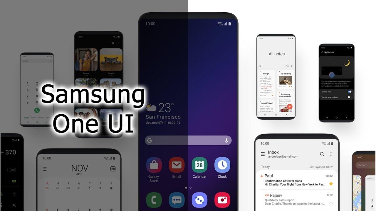 Обзор Samsung One UI на примере Galaxy Note 9