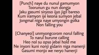 [Easy Lyrics] OST Goblin 'Stay With Me' - EXO Chanyeol & Punch