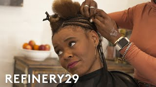 My Drastic Braided Bob Hair Transformation | Hair Me Out | Refinery29