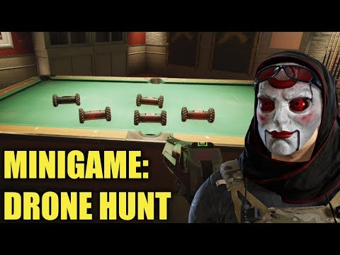 Drone Hunt! #2 - Rainbow Six Siege (Prop Hunt Minigame)