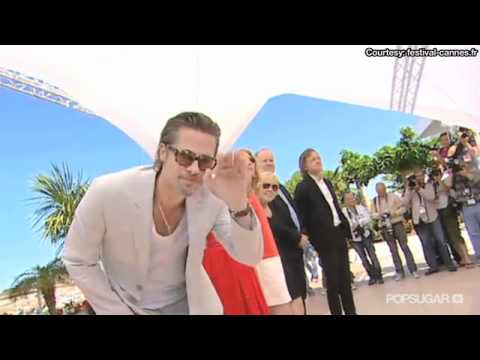 Angelina Jolie & Brad Pitt's Date Night in Cannes Before A Tree of Life Premiere!