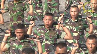 LATIHAN TNI AD Mengguncangkan Dunia