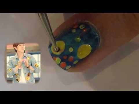 B1A4-Baby Goodnight Nail tutorial