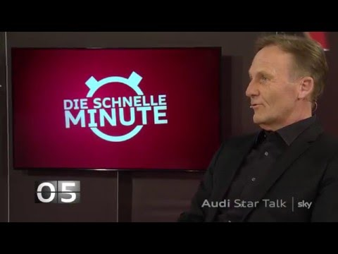 Hans-Joachim Watzke im Audi Star Talk - Teil 1