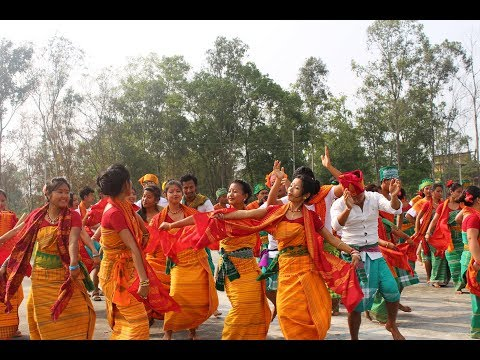Bodo Dance @Science College,Kokrajhar