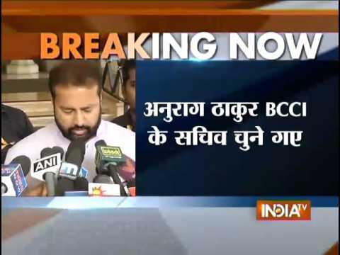 Jagmohan Dalmiya Returns as BCCI President - India TV
