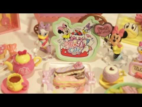 Re-ment Disney Minnie & Daisy Pretty Cafe Unboxing [FULL SET]