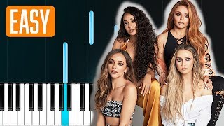 Little Mix Told You So 100 Easy Piano Tutorial