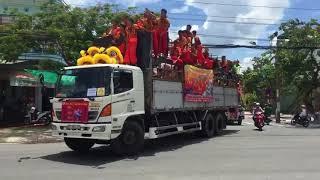 58 Đoàn Lân Diễu Hành Lễ Vía Chùa Bà Chúa Xứ Núi Sam An Giang 2018