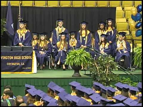 Covington High School Graduation 2013
