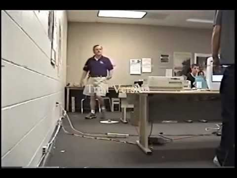 Student Smashes Computer in front of Teacher