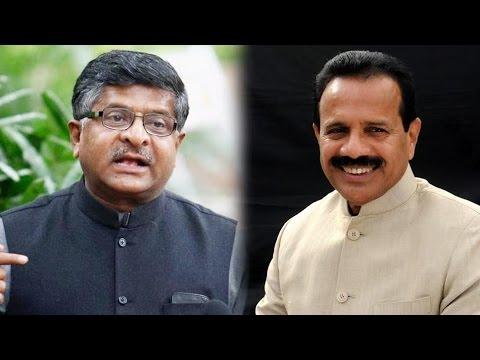 Ravi Shankar Prasad Replaces Sadananda Gowda as Law Minister
