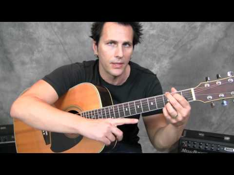 Santana & Chad Kroeger-Beginner Lesson-Chord Progression
