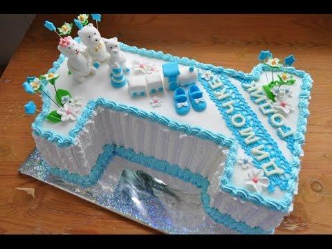 Детский торт 1 год своими руками
