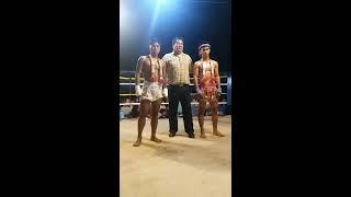 Myanmar Lethwei vs Muay Kard Chuek - Ount Chin Lay  ( Myanmar ) vs Sili Cam ( Thailand )