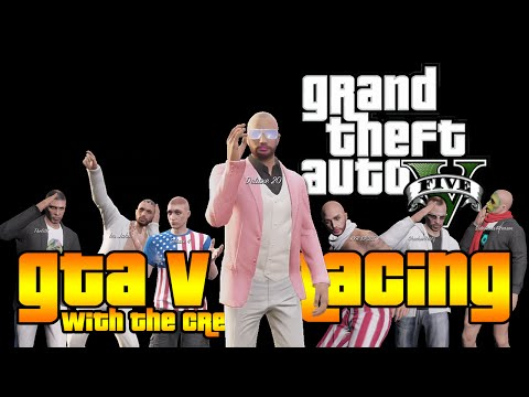 GTA 5 Online Races - Racing with The Crew (Bald Club, Tweet Speedy and More!)