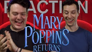 Mary Poppins Returns - Official Trailer Reaction