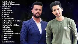 बेस्ट ऑफ आतिफ असलम - अरमान मलिक   नवीनतम बॉलीवुड गाने हिंदी गाने   इंडियन हिट्स गाने 2019
