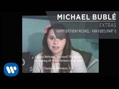 Happy Birthday Michael - Fan Video [Part 1]