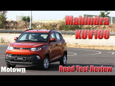 Mahindra KUV100 | Road Test Review | First Drive | Motown India