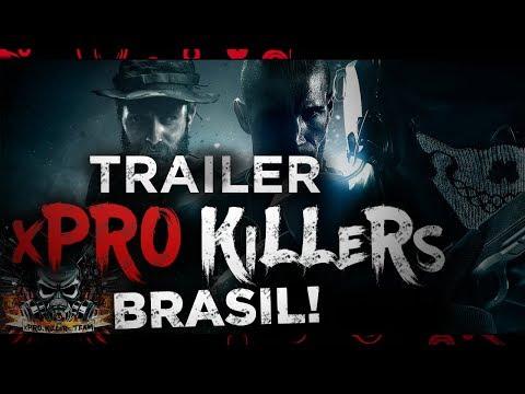TRAILER do CLÃ xPRO KILLERS ★ CALL OF DUTY BRASIL (PT-BR 2017)