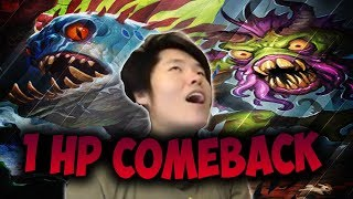 SHUDDERWOCK 1 Health Comeback?! | QUEST SHAMAN | THE WITCHWOOD | HEARTHSTONE | DISGUISED TOAST