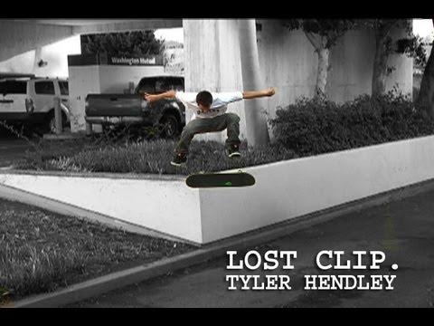 Tyler Hendley Skateboarding Lost Clip #10 Tailslide Kickflip