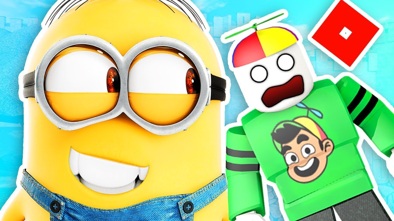 ESCAPE THE MINIONS! | Roblox | Guava Games