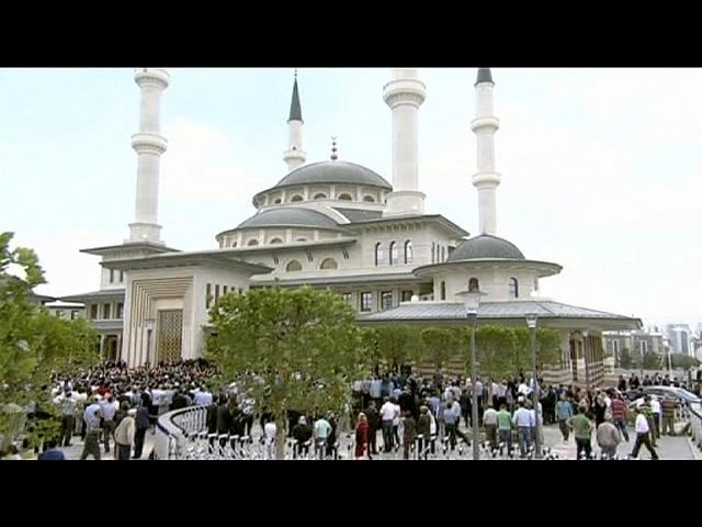 مسجد بزرگ کاخ ریاست جمهوری ترکیه افتتاح شد