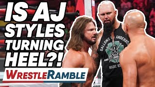 Is AJ Styles Turning HEEL?! WWE Raw, June 24, 2019 | WrestleTalk WrestleRamble