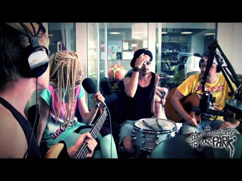 Triana Park radio interview before Baltic Beach Party 2010