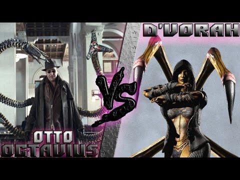 Доктор Октавиус (Marvel) vs ДиВора (Mortal Kombat) Кто кого? [bezdarno]