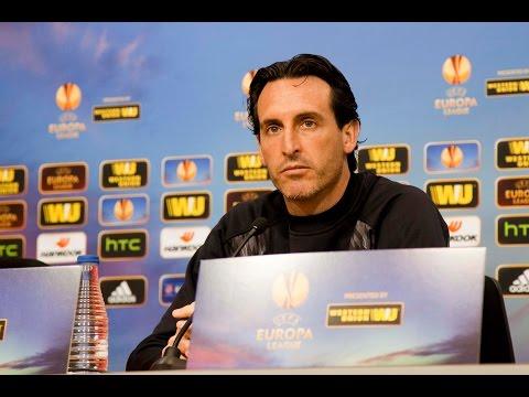 Rueda de prensa Unai Emery previa Sevilla FC-Borussia M´gladbach