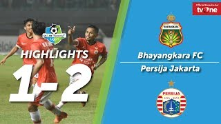 Bhayangkara Fc Vs Persija Jakarta 1 2 All Goals Amp Highligts Liga 1