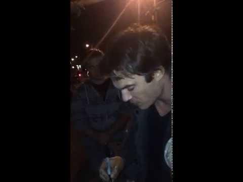Ian Somerhalder Kat Graham 10/16/2014