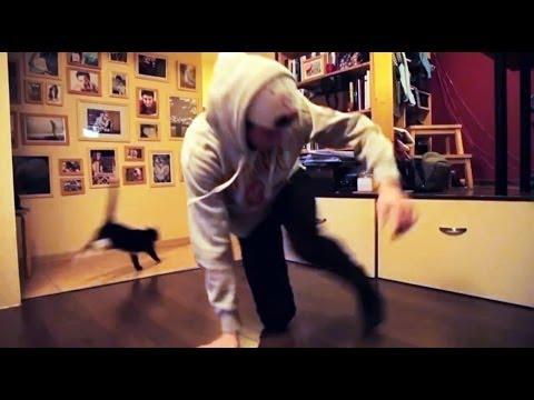 Брейк Данс - Черная кошка в шоке - Руслан Тагаев!