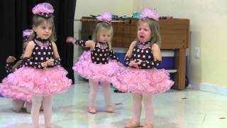 Emma's First Dance Recital