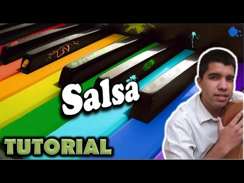 Piano online- Como tocar salsa/ Piano lessons (How to play salsa) Music Videos