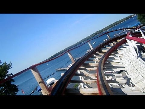 Legend front seat on-ride HD POV Arnolds Park