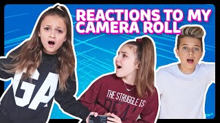 My Best Friends REACT to my CAMERA ROLL *EXPOSED* (w/ Piper Rockelle, Gavin Magnus) | Sophie Fergi