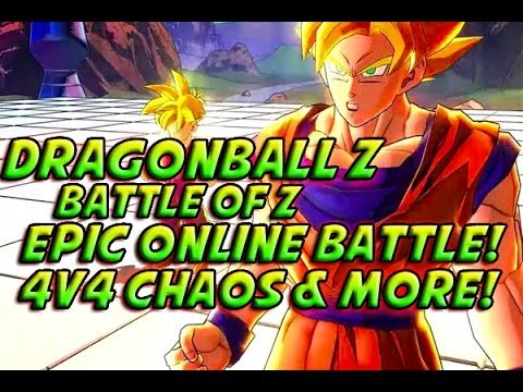 Dragonball Z: Battle Of Z - EXCLUSIVE ONLINE BATTLE! Epic 4v4 Online Battle & More!
